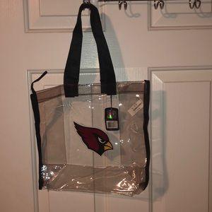NWT cardinal clear bag